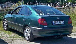 Toyota Avensis - Liftback (pre-facelift)