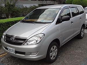 Toyota Innova - Pre-facelift Toyota Innova (Taiwan)