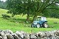 Tractor in Cwm Llynedno - geograph.org.uk - 1438486.jpg
