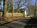 Traditional Fence at Bowerwood House, Ashford Road - geograph.org.uk - 780888.jpg