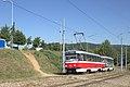 Tramo en Brno, antaŭ Ečerova.jpg