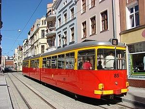 Tramways in Grudziądz - Düwag GT8.