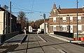 Travaux de la branche vers Vieux-Condé de la ligne B du tramway de Valenciennes en décembre 2013 (253).JPG