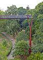 Treetop Walkway with pathway below, Kew Gardens.jpg