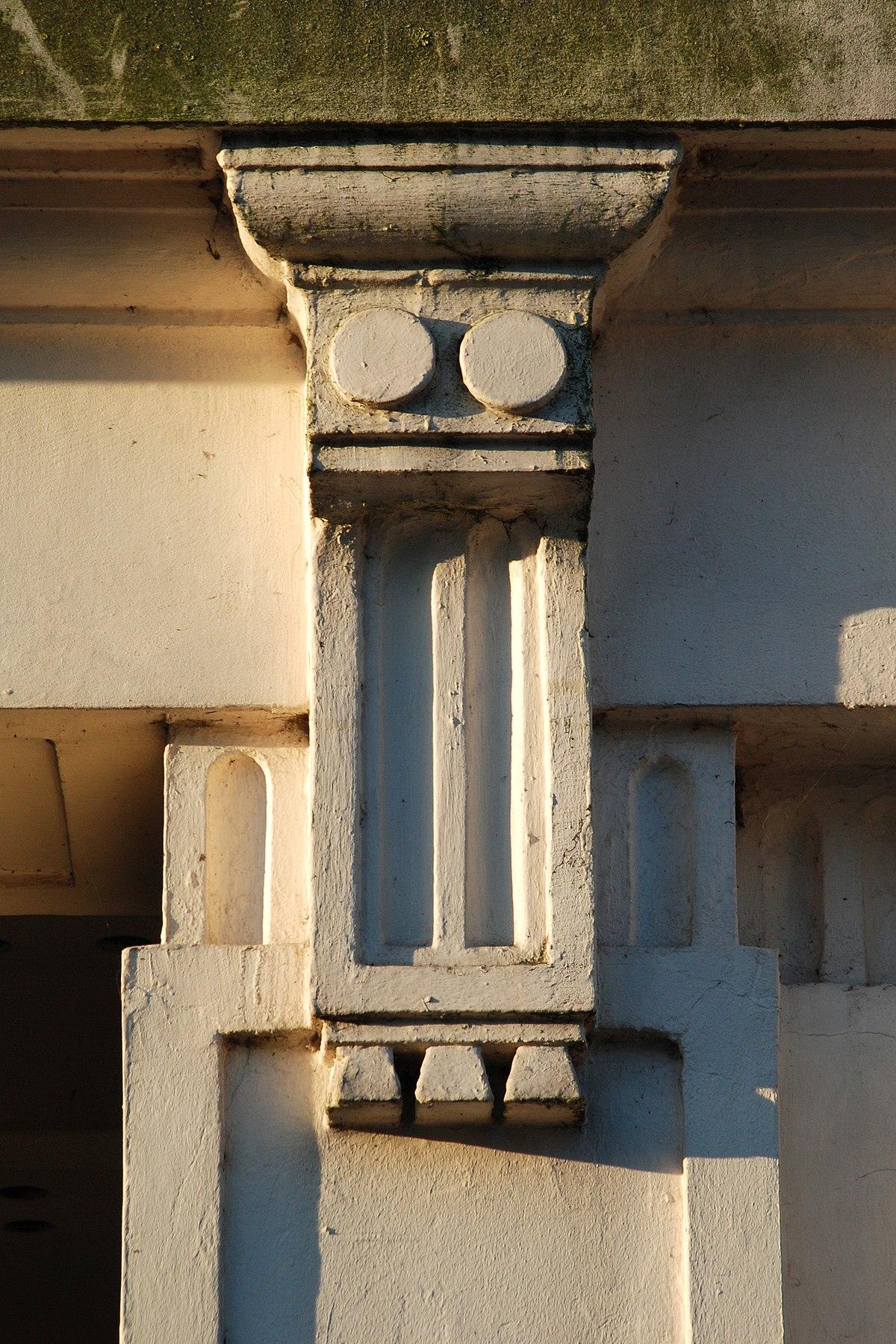 Goutte architecture wikip dia for Architecture grec