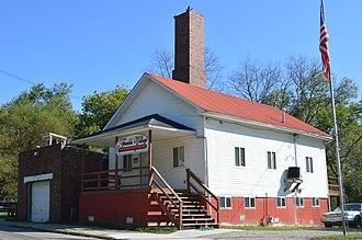Trimble, Ohio - Village hall on Congress Street