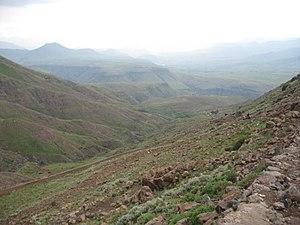 Mohale's Hoek District - Mount Moroosi