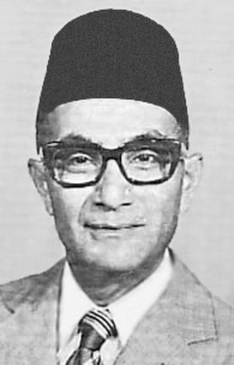 Minister of Finance (Malaysia) - Image: Tun Hussein Onn (MY 3rd PM)