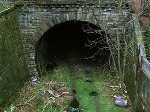 Glasgow Central Railway - Image: Tunnel to Botanic Gardens from Kelvinbridge