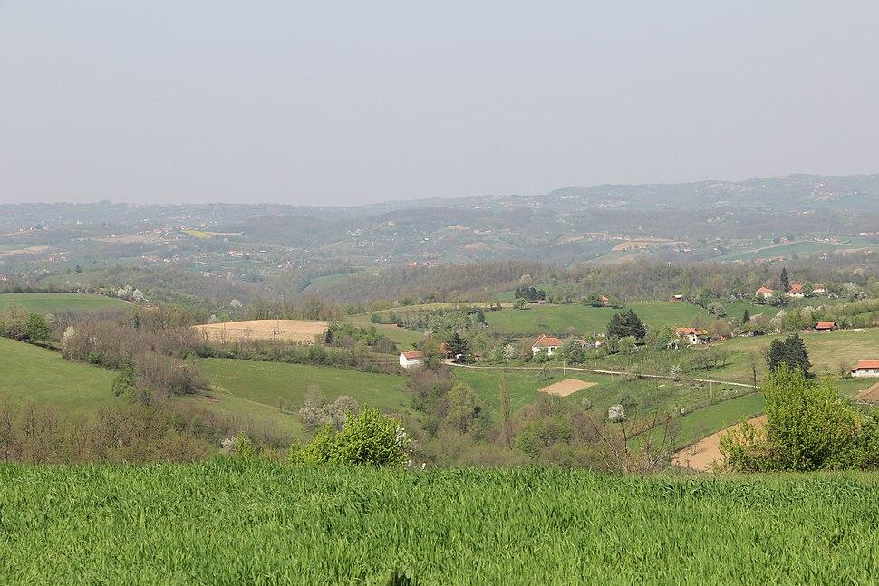 Tupanci - opština Valjevo - zapadna Srbija - panorama 4