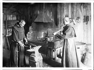 http://upload.wikimedia.org/wikipedia/commons/thumb/8/88/Two_monks_working_in_the_blacksmith_shop_at_Mission_Santa_Barbara%2C_ca.1900_%28CHS-4070%29.jpg/319px-Two_monks_working_in_the_blacksmith_shop_at_Mission_Santa_Barbara%2C_ca.1900_%28CHS-4070%29.jpg