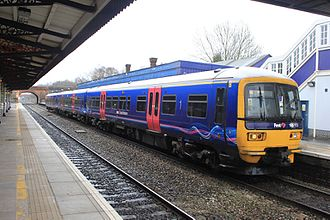 Twyford railway station - A London to Oxford service calls