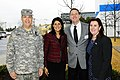 U.S. Army Maj. Gen. Lester Eisner, the deputy adjutant general for the South Carolina National Guard, South Carolina Gov. Nikki Haley, Troy S. Barnes, president of Sysco, and Director Cheryl M. Stanton, S.C 140226-F-XH297-734.jpg