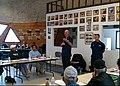 U.S. Coast Guard Rear Adm. Thomas P. Ostebo, center, the Coast Guard 17th District commander, and Vice Adm. Paul F. Zukunft, standing right, the Coast Guard Pacific Area commander, address the Alaska Eskimo 120724-G-ZZ999-500.jpg