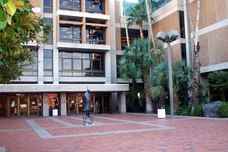 University of Arizona - Entrance to the U of A main library