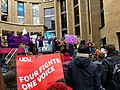 UCU Strike Rally, Buchanan Street, Glasgow 04.jpg