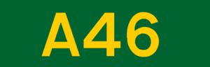 N3 road (Ireland) - Image: UK road A46