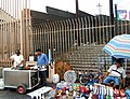 US-Mexico barrier at Tijuana pedestrian border crossing.jpg