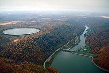 220px-USACE_Kinzua_Dam_downriver.jpg