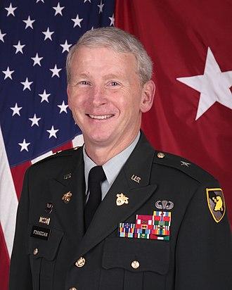Patrick Finnegan - General Finnegan's portrait while serving as West Point's Academic Dean in 2010
