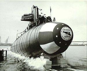USSWHBatesSSN680Launch