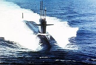 USS Andrew Jackson (SSBN-619) - Image: USS Andrew Jackson SSBN 619