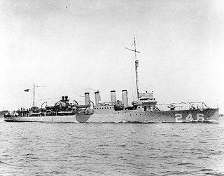 USS <i>Bainbridge</i> (DD-246) destroyer
