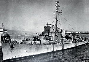 USS Fair (DE-35) in port, circa in 1944.jpg