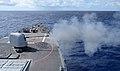USS Fitzgerald fires its MK-45 lightweight gun. (9194211592).jpg