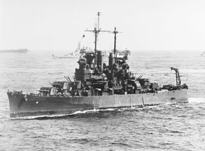 USS Santa Fe (CL-60) at sea on 12 December 1944 (80-G-301357).jpg