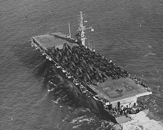 USS <i>Shamrock Bay</i> Casablanca-class escort carrier of the US Navy