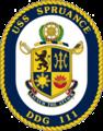 USS Spruance COA.png