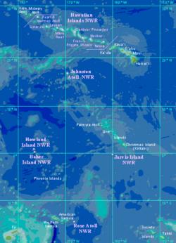 U.S. Hawaiian and remote Pacific islands