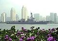 US Navy 040505-N-7949W-001 he Navy's newest guided missile destroyer PCU Pinckney (DDG 91).jpg