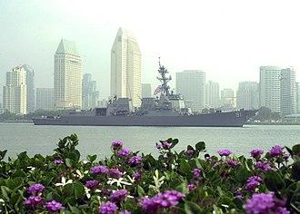 Port of Hueneme - USS Pinckney (DDG-91) guided missile destroyer