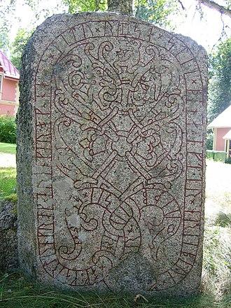 Sigurd stones - U 1163.