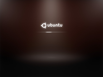 Bootsplash - Boot screen of Ubuntu Karmic Koala v9.10