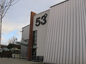 University of Central Lancashire - The Students' Union venue, 53 Degrees.