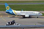 Ukraine International Airlines, UR-GAU, Boeing 737-5Y0 (26574341444).jpg