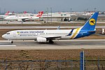 Ukraine International Airlines, UR-PSY, Boeing 737-8EH (32695580817).jpg