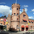 Umeas oldest firestation Sweden DYK.jpg
