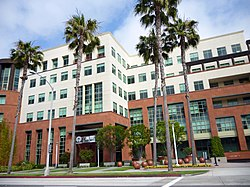 Universal Music Group headquarters in Santa Monica, United States.