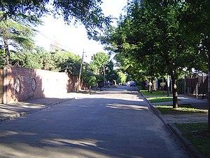 Martín Coronado, Buenos Aires - A street in Martín Coronado