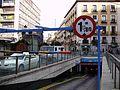 Underground car park at Plaza de Jacinto Benavente.jpg