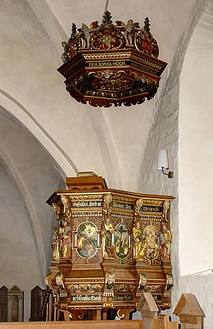 Abel Schrøder - Image: Undlose Kirke (08a)