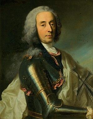 Unico Wilhelm van Wassenaer - Portrait by Georg Desmarées