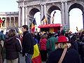 United Belgium Brussels demonstration 20071118 DMisson 00123 parc Cinquantenaire.jpg