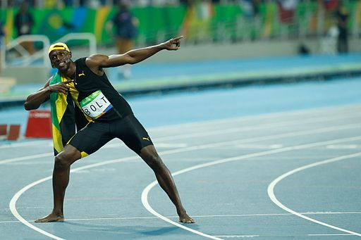 Usain Bolt Rio 100m final 2016