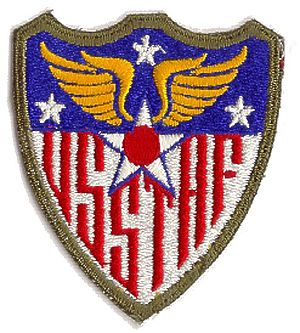 United States Strategic Air Forces in Europe - Image: Usstaf emblem