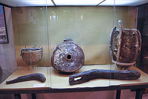 Science and technology in Spain - Esparto grass artefacts from the Roman mine workings at Carthago Nova (Cartagena). Museo Arqueológico Municipal de Cartagena.